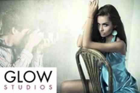 Glow Studios - Make Up Lesson Plus Makeover Photoshoot With Prints - Save 90%