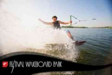 Festival Wakeboard Park - Two Hour Wakeboarding Experience With Equipment Hire For One - Save 59%