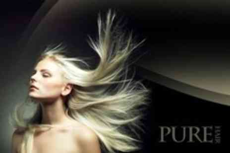 Pure Hair - LOreal Hair Smoothing Treatment By Senior Stylist - Save 78%