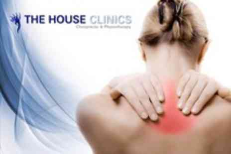 The House Clinics - Chiropractic or Physiotherapy with Consultation, Treatment and Massage - Save 71%