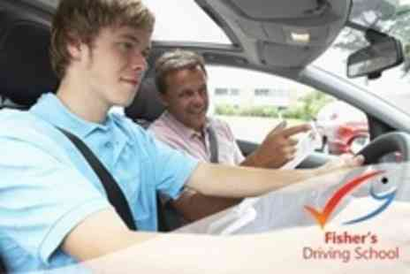 Fishers Driving School - Three Driving  Lessons - Save 85%