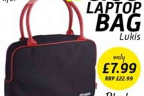 Breo - Lukis Laptop Bag In Black - Save 65%