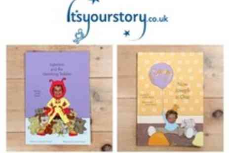 Itsyourstory - Photo personalised childrens book - Save 55%