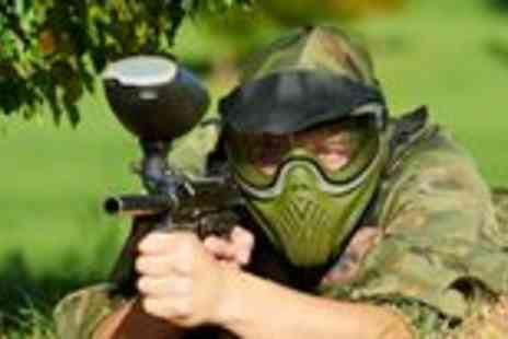 Skirmish Scotland - Full day paintballing with lunch for parties of 10 - Save 97%