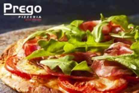 Prego Pizzeria and Pasta - Italian Fare For Two With Wine - Save 51%