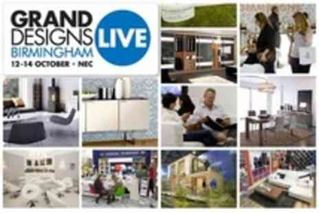 Grand Designs Live Birmingham - Two Standard Tickets - Save 64%