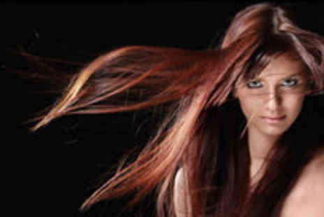 eden8 - Cut and blow dry with a Redkin conditioning treatment and head massage - Save 0%