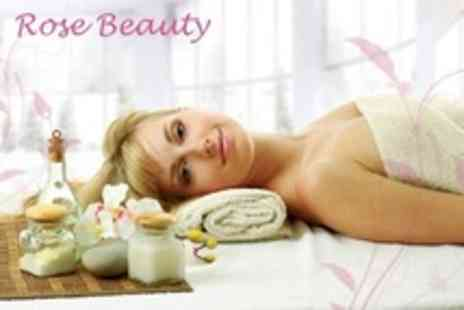Rose Beauty - One Hour Full Body Massage With Choice of Facial - Save 60%
