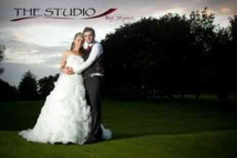 The Studio by Jaymz - Wedding Photography Package With Prints, Album and Image DVD - Save 66%