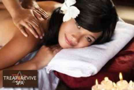 Treat and Revive Spa - Spa Ritual With Coconut Oil Wrap, Facial, Back Massage and Scalp Massage - Save 63%