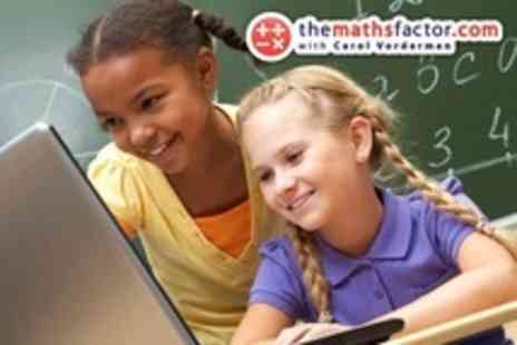 The Maths Factor - Times Tables With Games and Video Lessons of Carol Vordermans Online Maths School - Save 55%