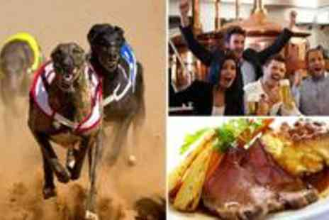 Coventry Dogs - Three course meal and drinks for 2 with admission, race card - Save 64%
