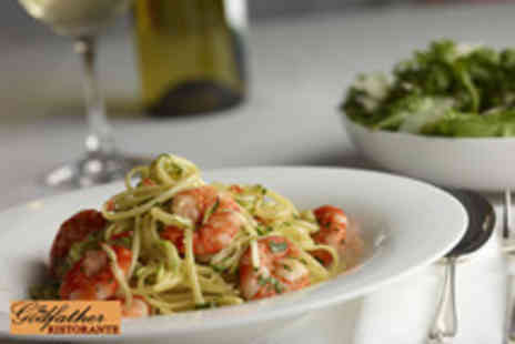 The Godfather Ristorante - £5 for a £22 voucher to spend on food at authentic Italian eatery - Save 77%