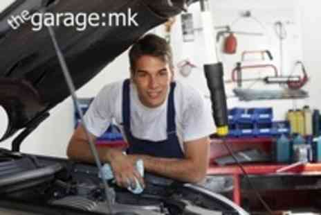 The Garage:MK - 54 Point Car Service With Oil and Filter Change - Save 67%