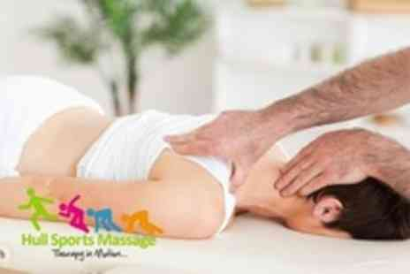Hull Sports Massage - Sports Therapies: Choice of One  or Two  Such as Massage and Ultrasound - Save 67%