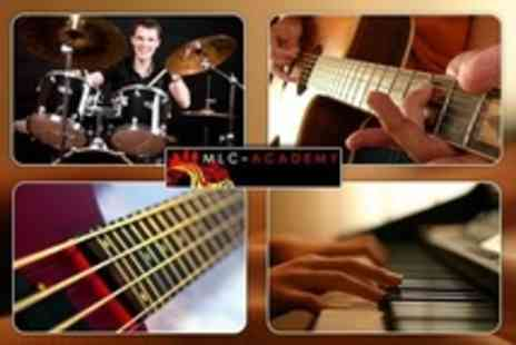 MLC Academy - Music Lessons Choice of Two or Four - Save 64%