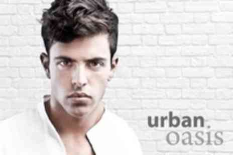 Urban Oasis - Men s Shampoo, Cut and Finish With L Oreal Conditioning Treatment and Scalp and Shoulder Massage - Save 54%