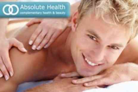 Absolute Health - Sports Massage With Consultation Plus Follow Up Massage - Save 67%