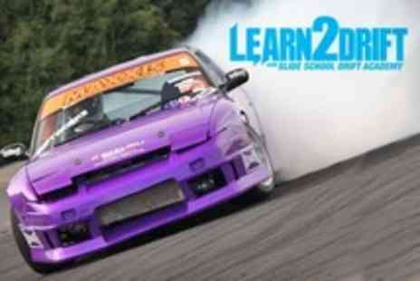 Slide School Drift Academy - Drifting Experienc  Four Hour Tuition or Three Passenger Laps - Save 57%