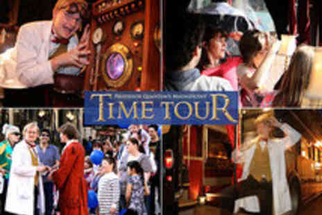 Time Tours - Professor Quantums Magnificent London Time Tour Tickets - Save 50%