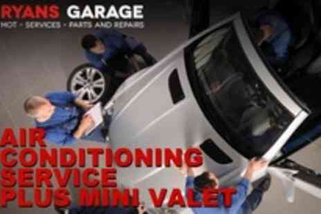 Ryans Garage -  Air conditioning service - Save 68%