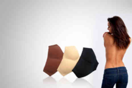 Dress Room - Padded Enhancing Panties Pack of Three - Save 67%