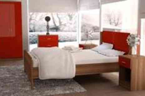 Furniture and Flooring - Three piece bedroom furniture set - Save 70%