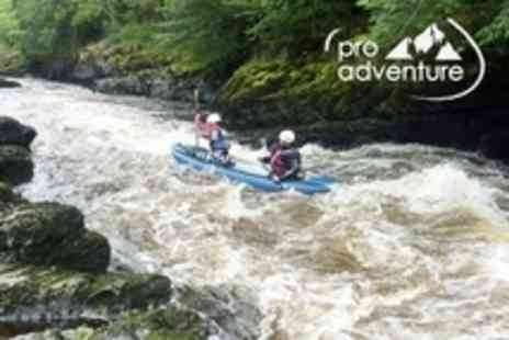 ProAdventure - Three Hour White Water Kayaking Experience - Save 66%