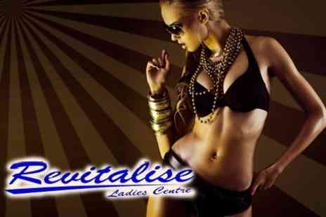 Revitalise - Choose Two From Manicure, Pedicure Or Full Body Spray Tan - Save 64%
