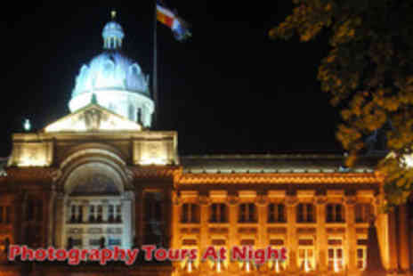 Photography Tours at Night - 2 hour night photographic walking tour of Birmingham - Save 70%