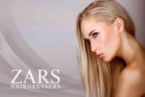 Zars - Half-Head Highlights With Cut, Conditioning Treatment, and Blow Dry - Save 53%