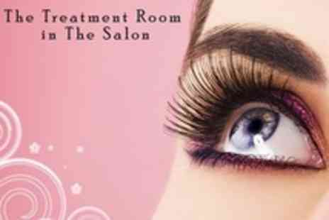 The Treatment Room in The Salon - Full Set of Eyelash Extensions  With Infills - Save 60%