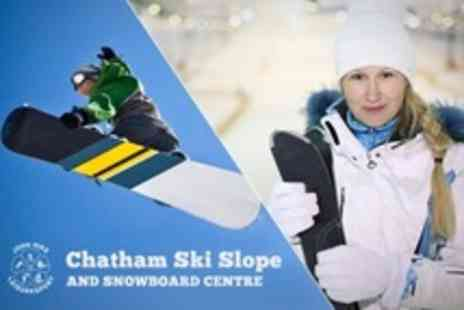 Chatham Ski Slope - One Ski or Snowboarding Lessons - Save 52%