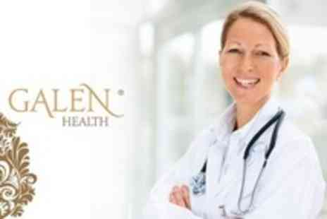Galen Health - Comprehensive Head to Toe Medical Assessment With GP Consultation, Blood Profile and ECG - Save 76%