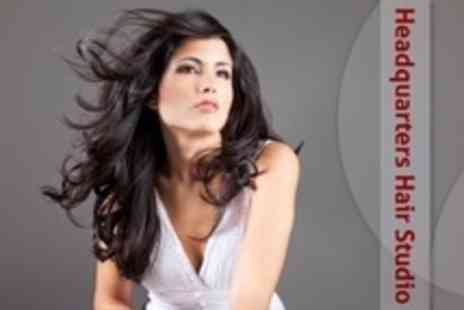 Headquarters Hair Studio - Cut and Blow Dry With Conditioning Treatment - Save 15%