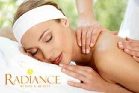 Radiance Health and Beauty - Express Dermalogica Facial, Aromatherapy Massage and Mini Manicure - Save 69%
