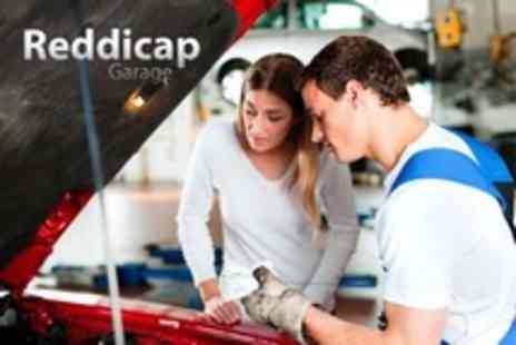 Reddicap Garage - 55 Point Car Check With Oil and Filter Change - Save 73%