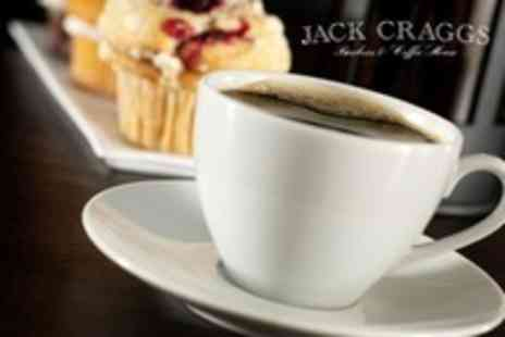Jack Craggs - Trio of Cakes Plus Coffee or Tea With Free Refills For Two or Four - Save 62%