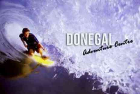 Donegal Adventure Centre - Surfing Lesson For Two - Save 50%