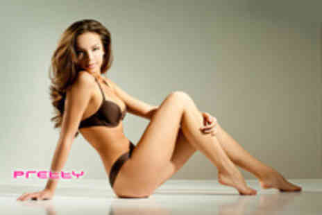 Pretty Hair and Beauty - Waxing package including  full arm, full leg  and underarm - Save 53%