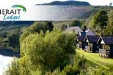 Logierait Lodges - Four Night family break by the banks of River Tay - Save 54%