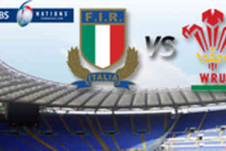 Worldchoice Sports - Wales v Italy Six Nations 2013 rugby ticket plus 3 nights in Rome with return flights - Save 55%