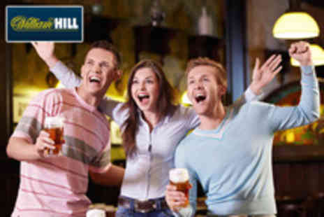 WilliamHill.com - £5 for £15 worth of betting credit to use on any sport event - Save 67%