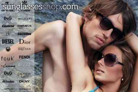 Sunglasses Shop - Voucher to Spend on Designer Eyewear- Save 64%