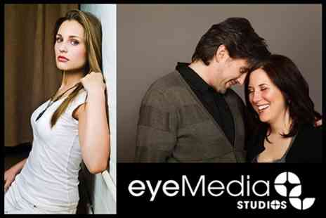 Eyemedia Studios - Two Hour Photo Shoot For One or Two People With Prints - Save 87%
