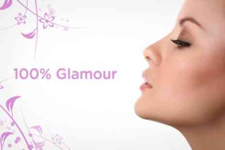 100% Glamour - Microdermabrasion, Ultrasonic and Photon Light Therapy Plus Back,Neck, Shoulder Massage - Save 73%