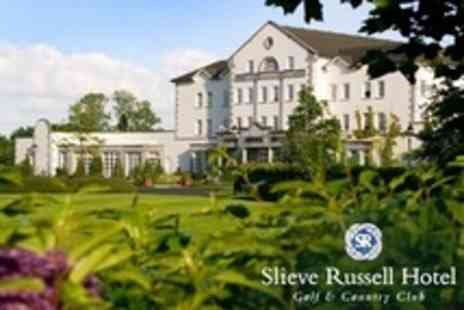 Slieve Russell Hotel - Two Night Stay For Two With Afternoon Tea Plus Par 3 Golf and Use of Country Club Leisure Facilities - Save 52%