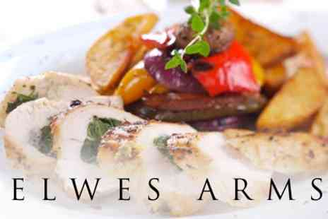 The Elwes Arms - Three Course Meal For Two - Save 60%