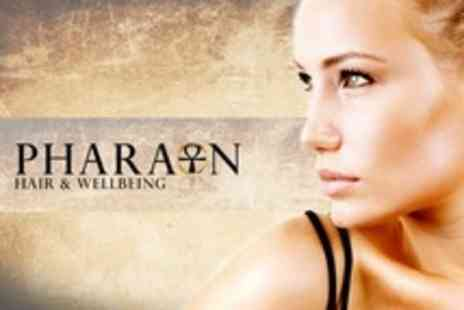 Pharaon Hair and Wellbeing - Moroccan Clay Facial or Manicure and Pedicure  or Both - Save 52%