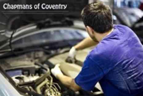 Chapmans of Coventry - Car Service With Oil and Filter Change, Engine Diagnostic Reading and Mini Valet - Save 84%